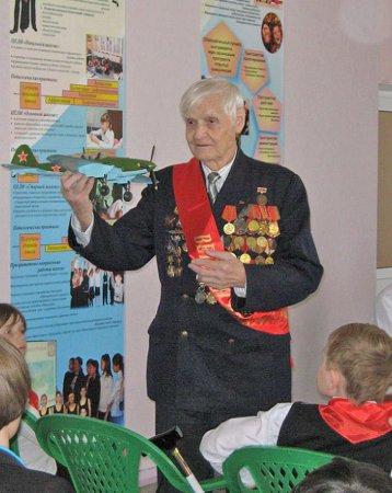 Ветеран партии А.Н. Обрезков отметил 95-летие