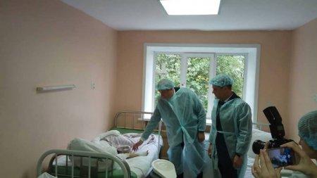 Сергей Левченко: Всем детям, пострадавшим от взрыва в ТРК