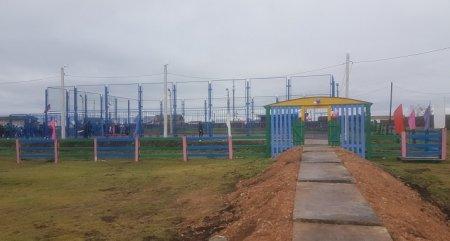 Баяндаевский район: три новых спортивных объекта